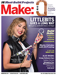 As seen in Make: Magazine issue 65
